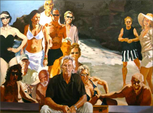 Eric Fischl Self Portrait:  An Unfinished Work, 2011 Oil on linen