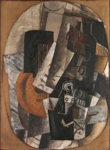 "Georges Braque, Still Life: ""2ᵉ étude, 1914"