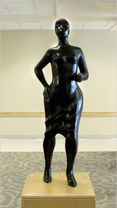Stepping Out, 2000, bronze
