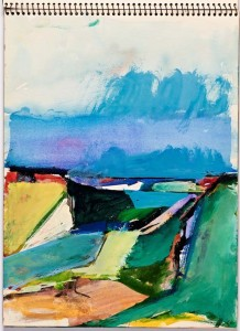 Diebenkorn sketchbooks at Cantor