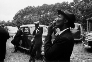 Robert Frank, Funeral, St. Helena, South Carolina