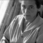 Agnes Martin, c. 1953 Photograph by Mildred Tolbert