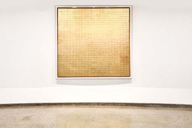 Friendship, by Agnes Martin. Guggenheim Museum, New York