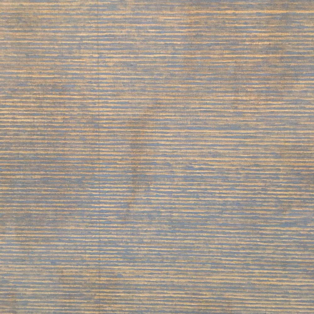 Falling Blue (detail), 1963, by Agnes Martin. Oil and graphite on linen